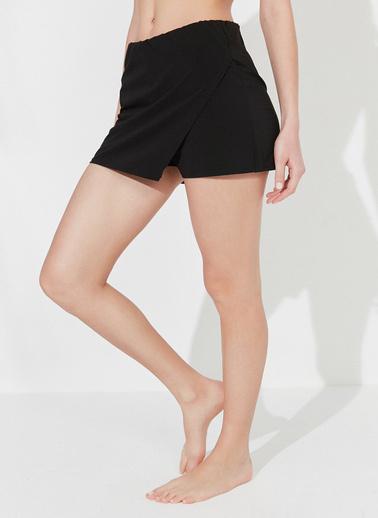Penti Siyah Skirt Deniz Şortu Siyah